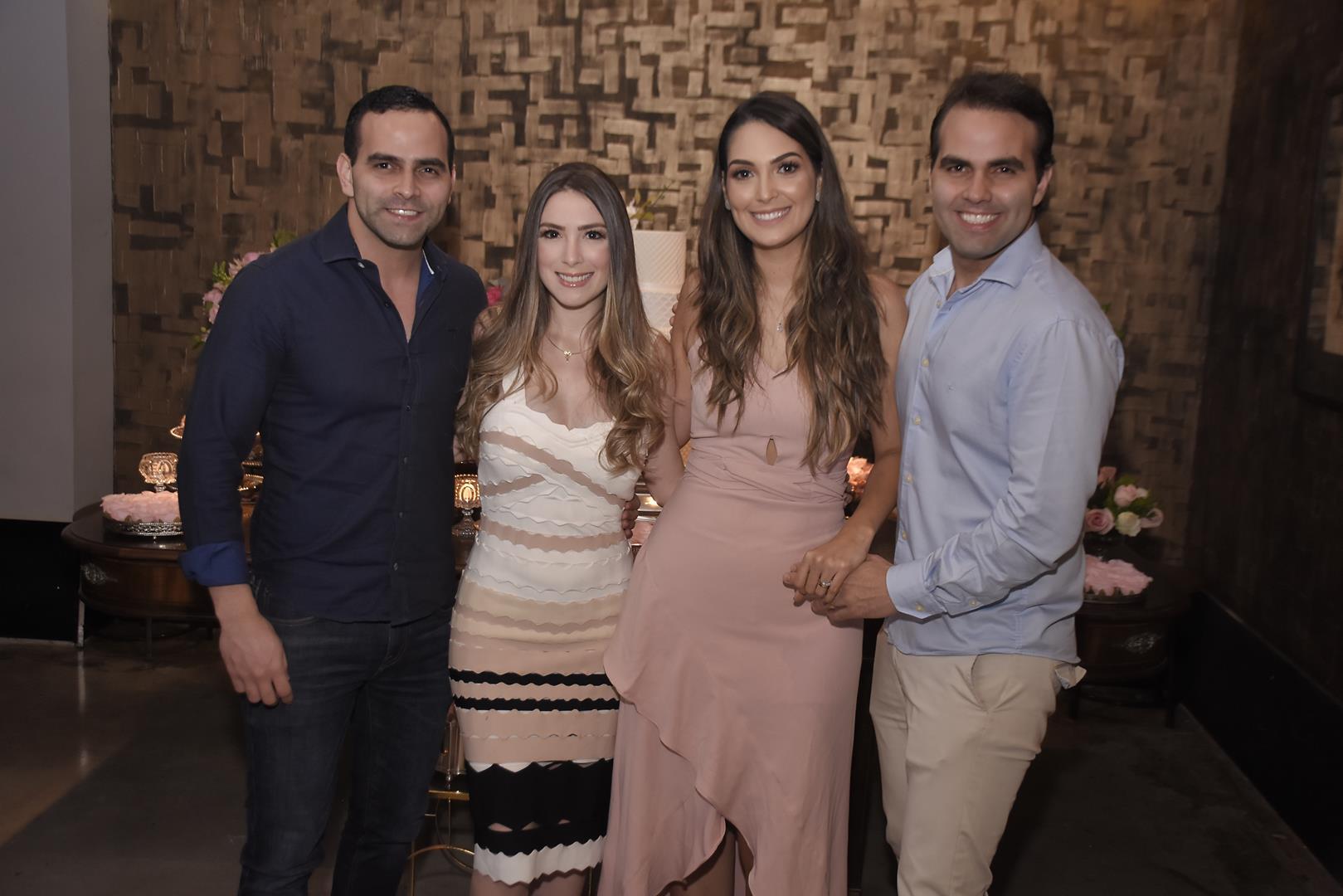 Erick Guanabara, Mirella Moreira, Catarina Moreno e Andre Guanabara