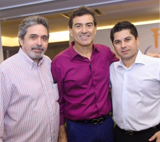 Totonho Laprovítera, Alexandre Pereira e Pompeu Vasconcelos