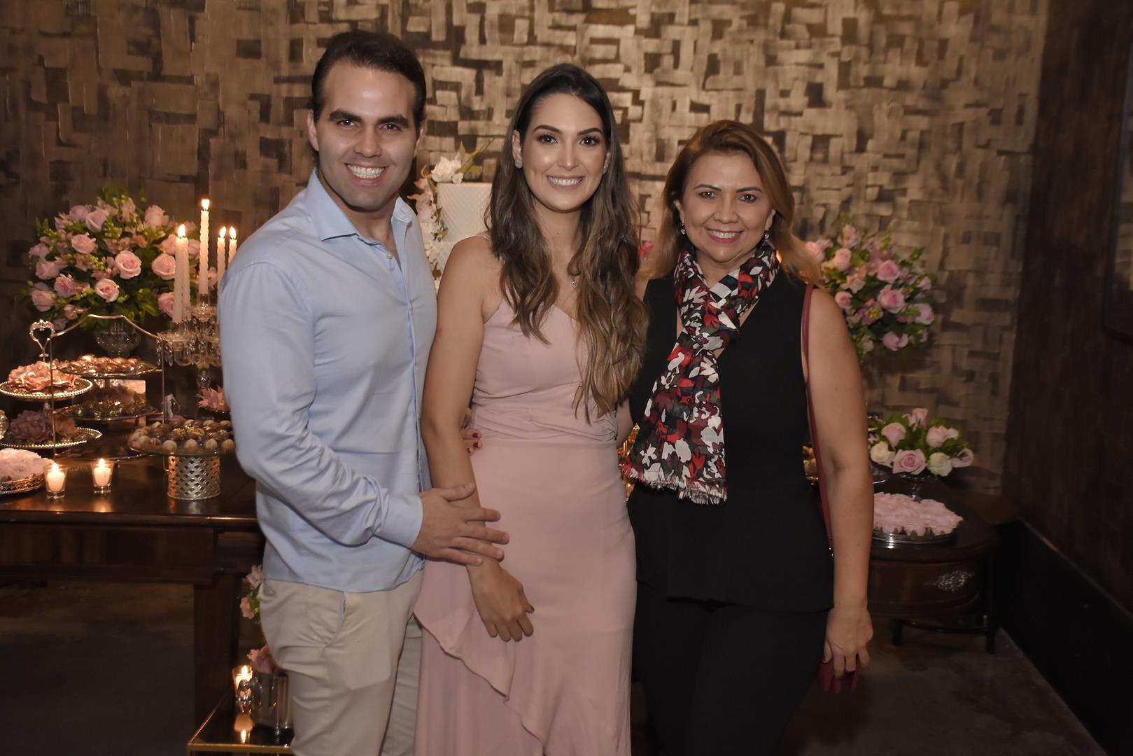 Andre Guanabara, Catarina Moreno e Simone Ramalho