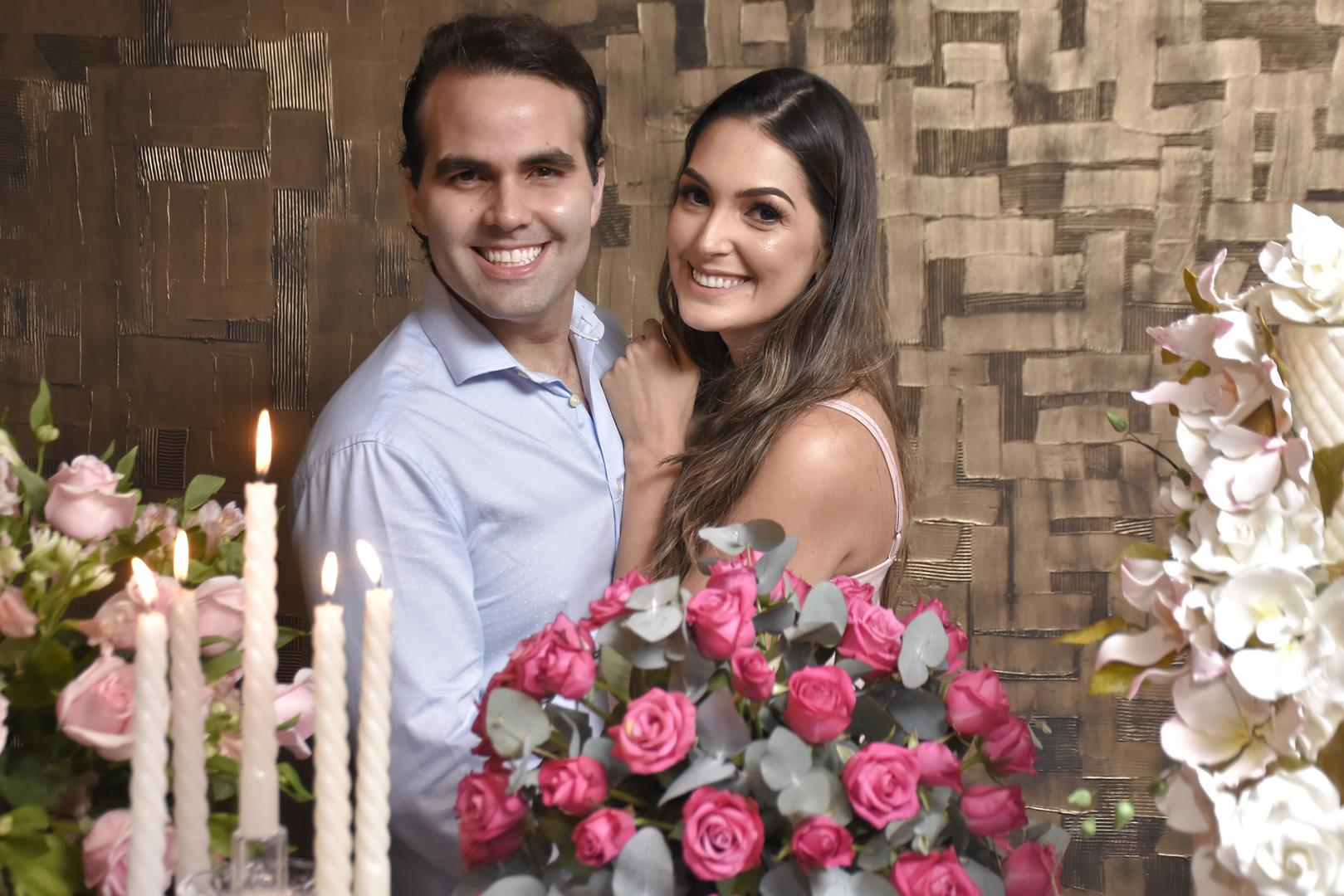 Andre Guanabara e Catarina Moreno