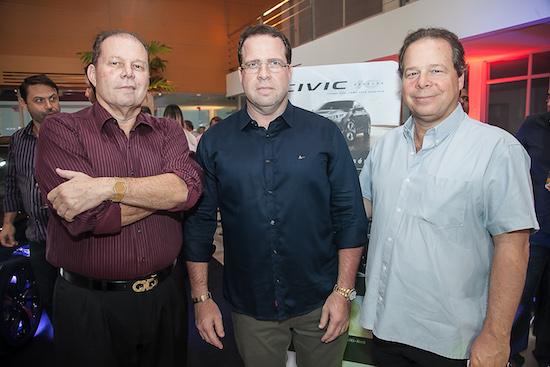 Júlio, Edson e Francisco Ventura