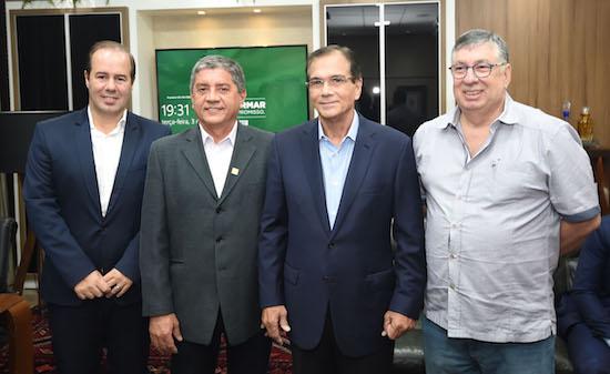 Sésar Ribeiro, César Sampaio, Beto Studart e Maia Júnior