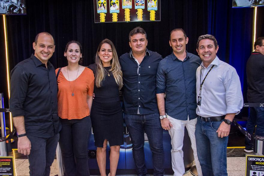 Alfredo Nascer, Karen Melo, Laura Dantas, Adeisio Queiroz, Rodrigo Nascer e Marcio Cabral