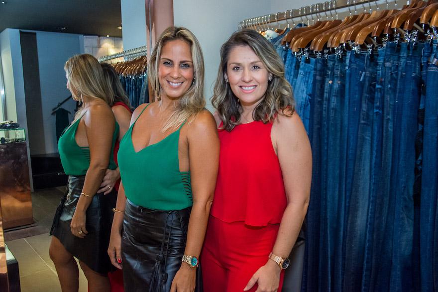 Suzana Rodrigues e Melina Melo