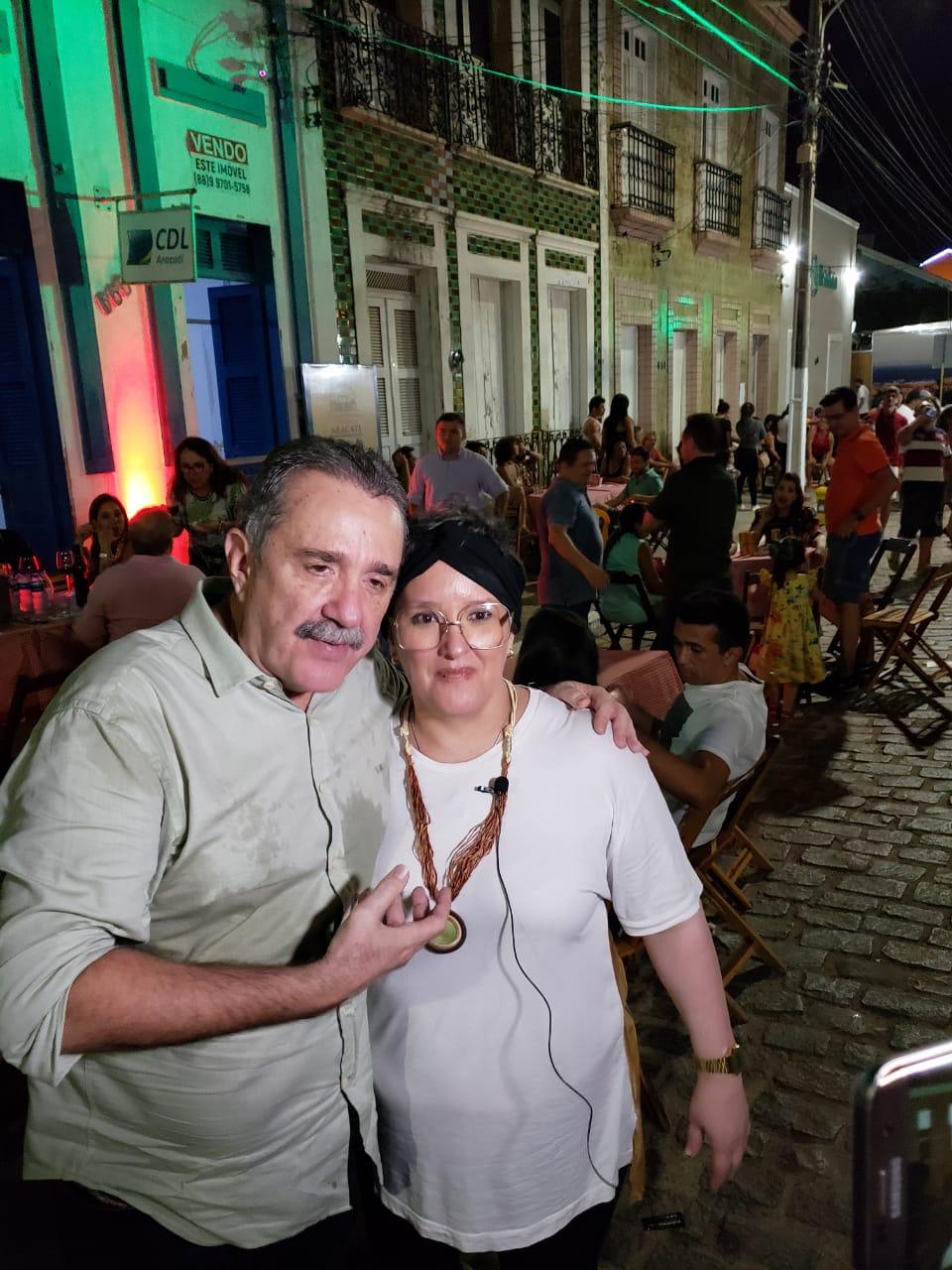 Bismarck Maia e Ana Paula Rezende