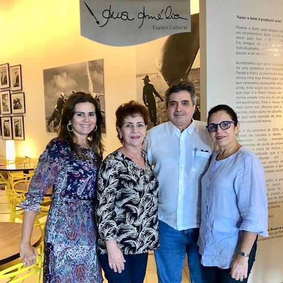 Ivana Bezerra, Lilia Quinderé, Totonho e Elusa Laprovitera