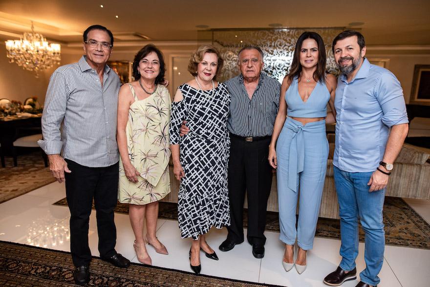 Beto Studart, Ana Studart, Auxiliadora Paes Mendonca, Joao Carlos Paes Mendonca, Luciana Sousa e Elcio Batista