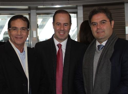 Beto Studart, Cesar ribeiro e Edson Queiroz Neto