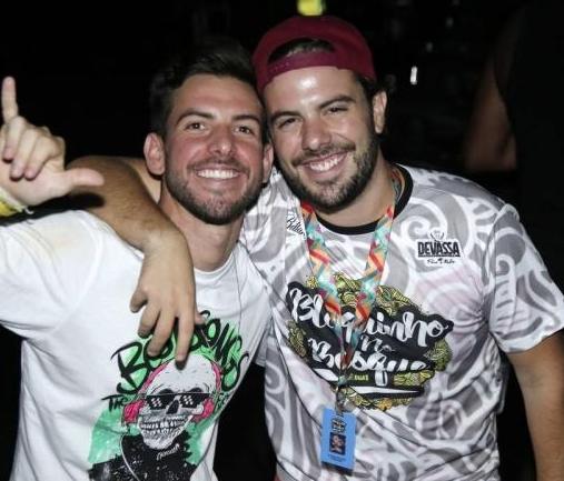 Pedro Campos e Claudio Nelson