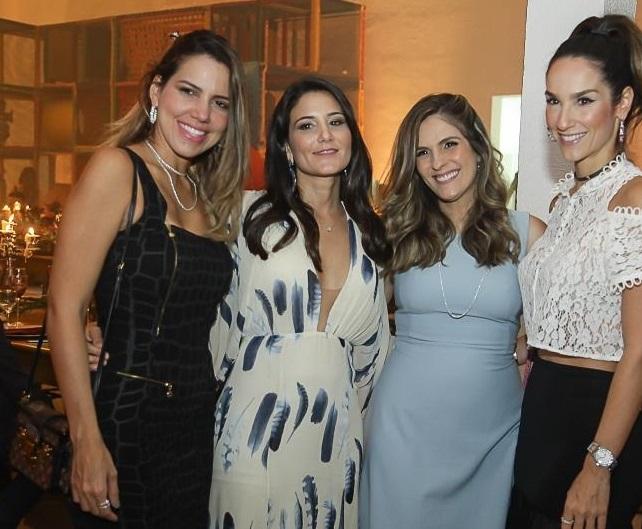Ana Carolina Fontenele, Aline Pinho, Mariana Marinho e Marcela Cabral