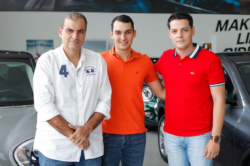 Alexandre Sales, Pedro Sales e Saulo Parente