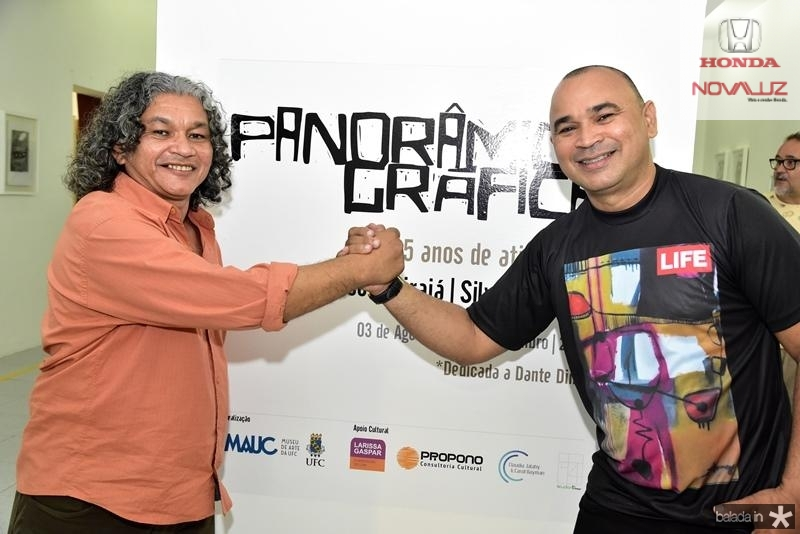 Gerson Ipirajá e Silvano Tomaz