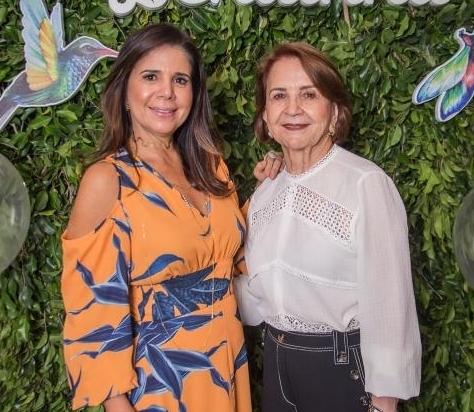 Maria Lúcia e Lenita Negrão