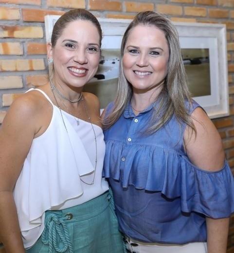 Carolina Dias e Annelise Franco