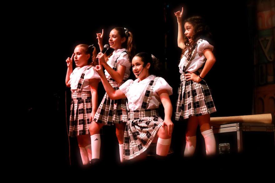 Espetáculo Matilda