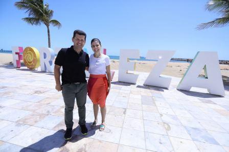 Erick Vasconcelos e Carol Bezerra
