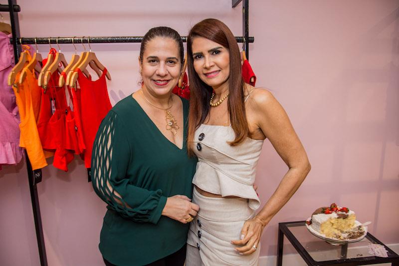 Martinha Assuncao e Lorena Pouchain