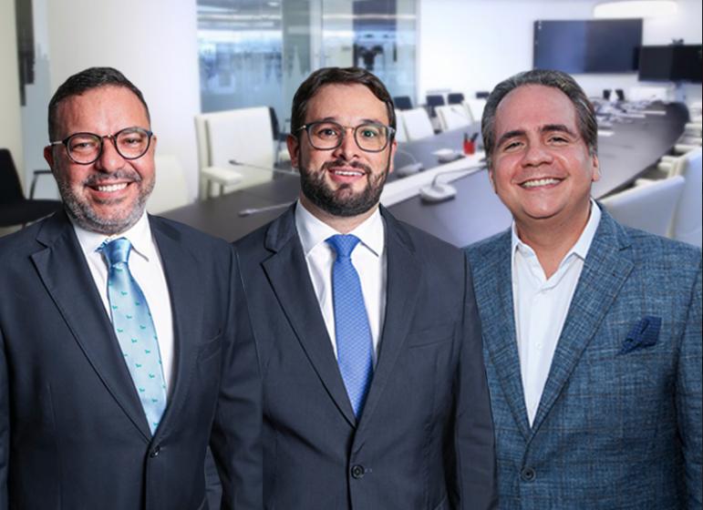 Marcell Feitosa, Ricardo Bacelar e Vanilo Cunha de Carvalho Filho
