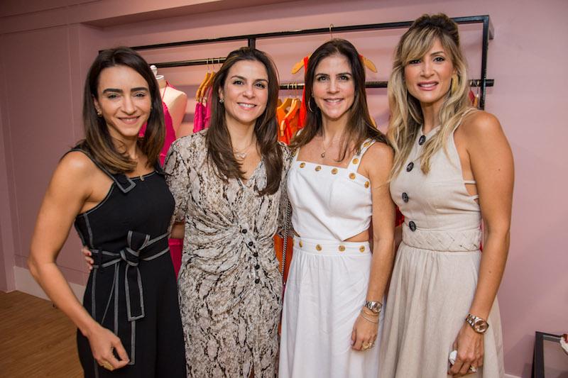 Camila Figueiredo, Laura Juca, Raquel Juca e Bianca Bonorandi