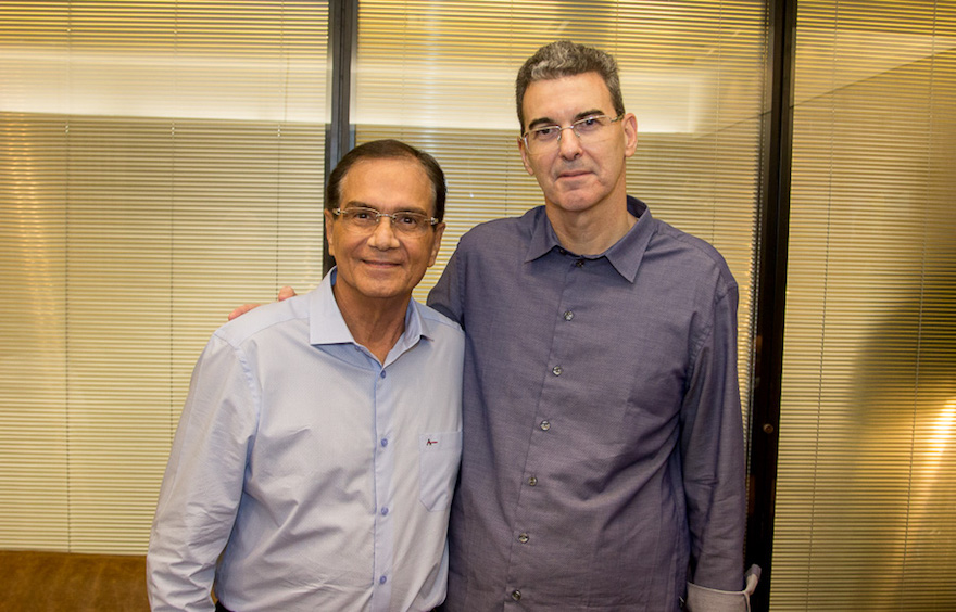 Beto Studart e Geraldo Luciano