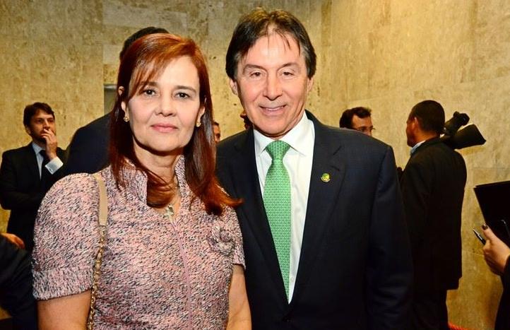 Mônica e Eunício Oliveira