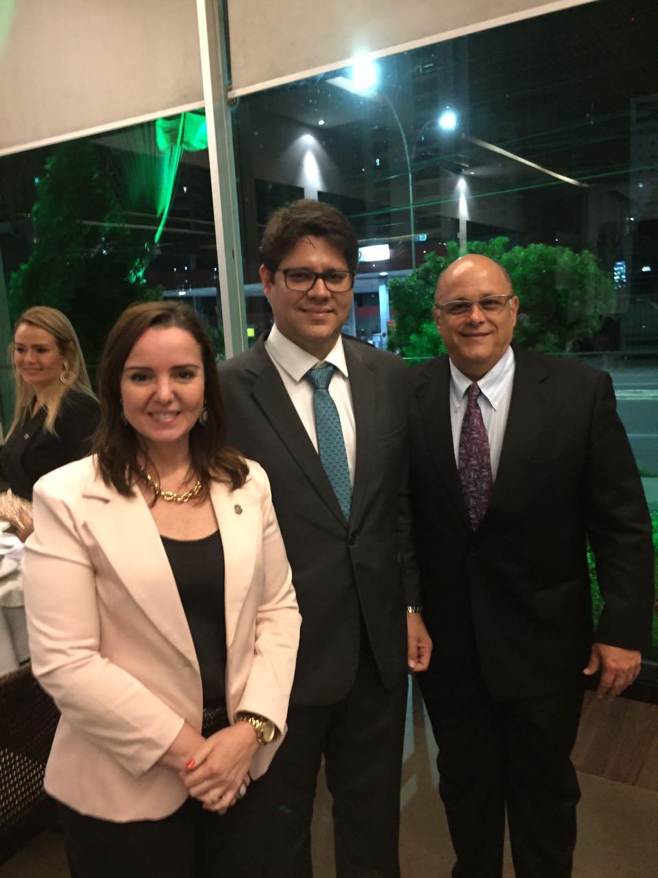 Nicolle Barbosa, Leonardo Carvalho e Philomeno Júnior