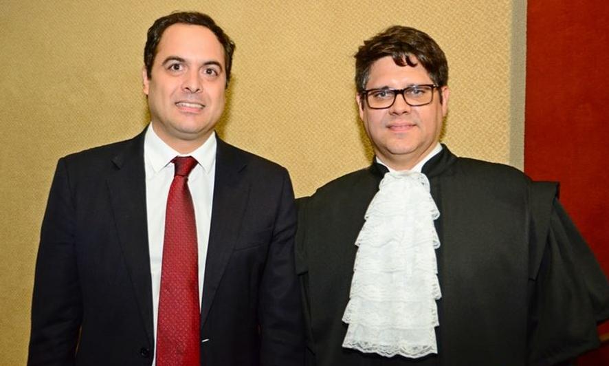 Paulo Câmara e Leonardo Carvalho