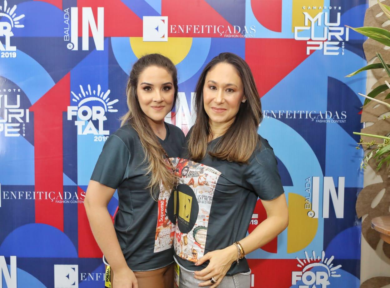 Natália Marques e Larissa Coelho