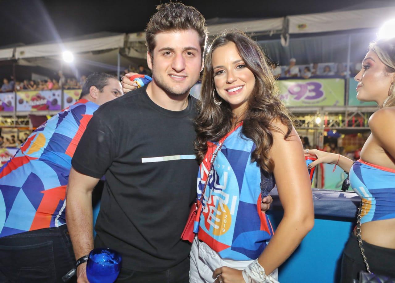 Omar Marcêdo e Fernanda Levy