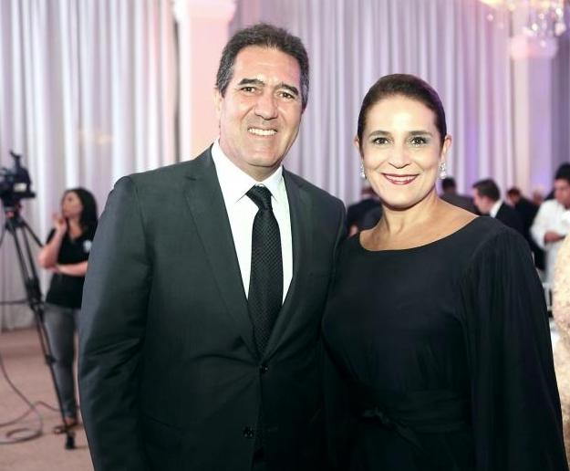 Luiz Gastao e Patricia Macedo