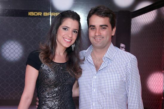 Tatiana e Ari de Sá Cavalcante Neto