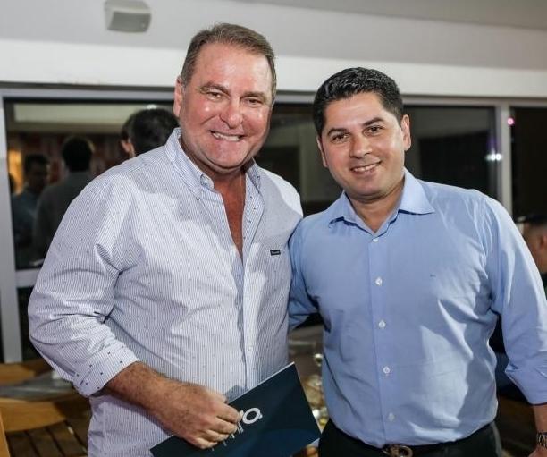 Jório da Escossia Jr e Pompeu Vasconcelos