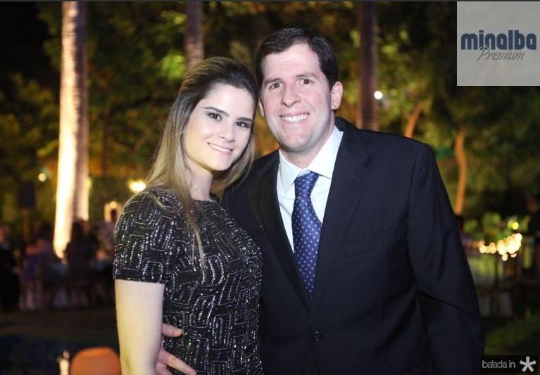 Camile Quintão e Rodrigo Carneiro