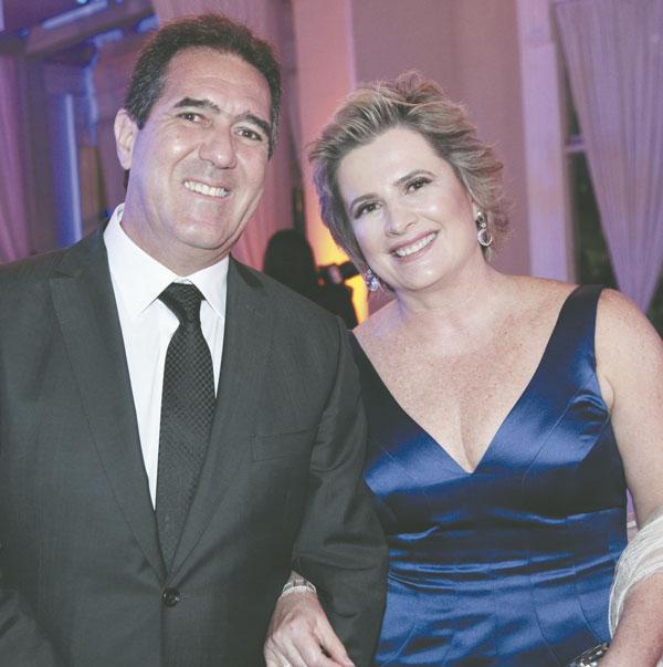 Luiz Gastão e Eliane Bittencourt