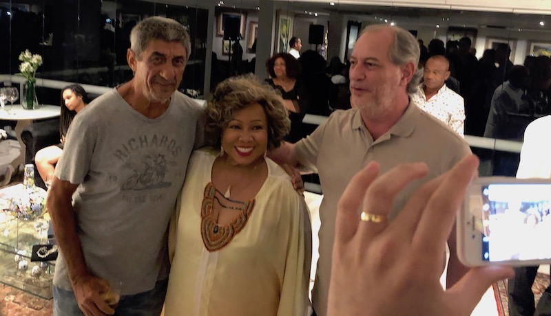 Fagner, Alcione e Ciro Gomes