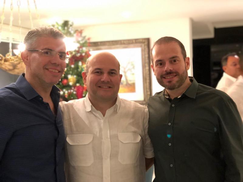 Gerardo, Roberto Cláudio e Prisco Bezerra