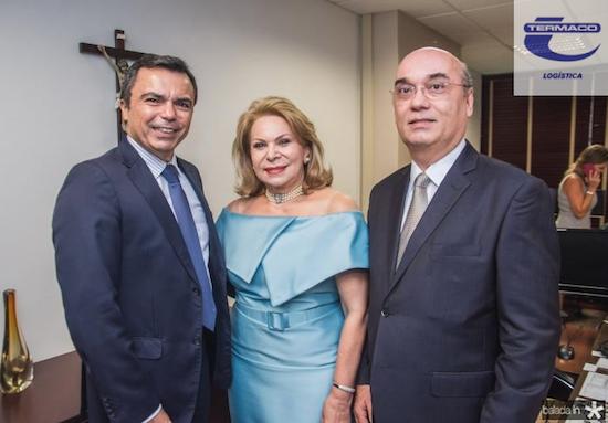 Juvêncio Araújo, Iracema do Vale e Luciano Lima