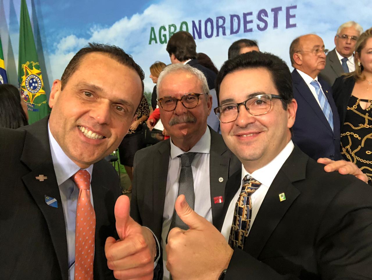 Eduardo Diogo e Geraldo Melo Filho