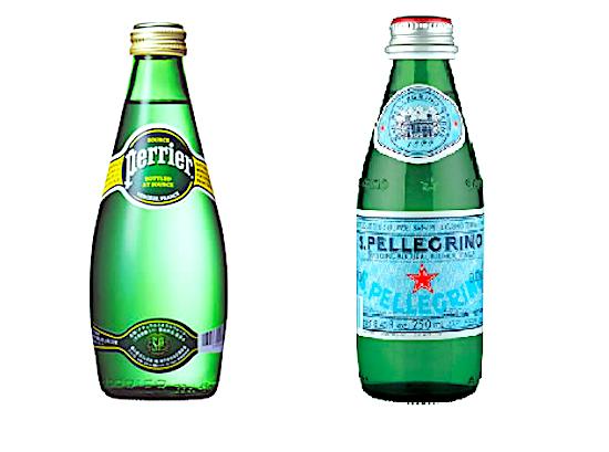 Perrier e S. Pellegrino