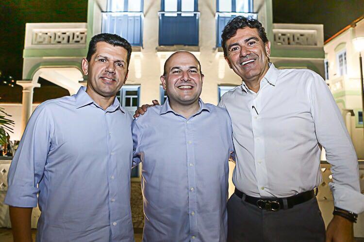 Erick Vasconcelos, Roberto Claudio e Alexandre Pereira