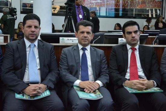 Homero Silva, Erick Vasconcelos e Rodrigo Nogueira