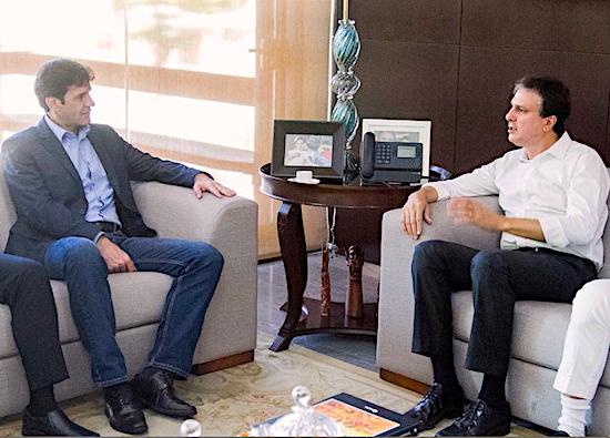 Marcelo Álvaro e Camilo Santana