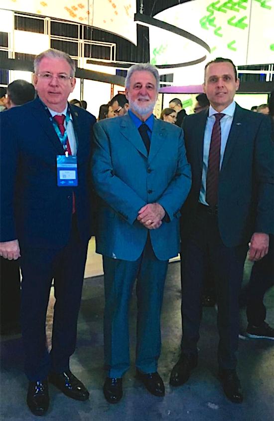 Ricardo Cavalcante, Carlos Melles e Eduardo Diogo