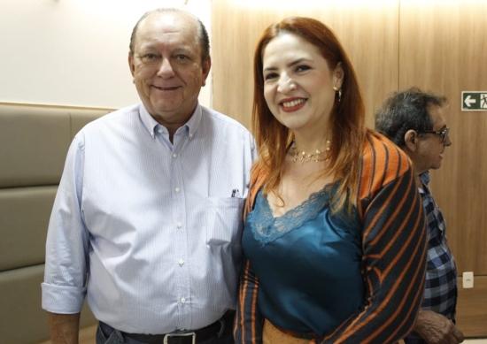 Rafael Leal e Enid Câmara