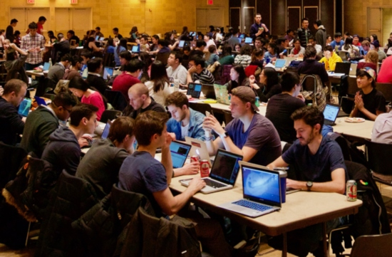 Hackathon concorrido