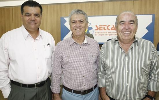 Odmar Feitosa, Clóvis Bezerra e Ubiratan de Paula