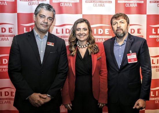 Marcos Troyjos, Emília Buarques e Élcio Batista