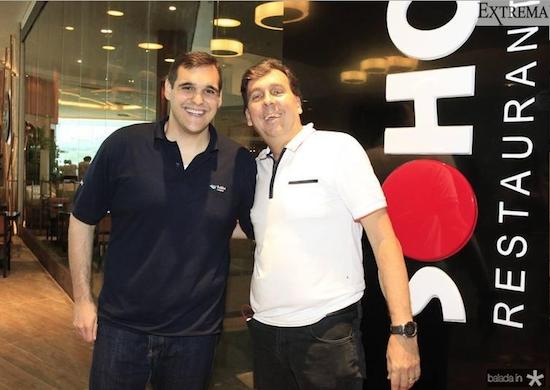 Marcelo Melo e João Mendonça