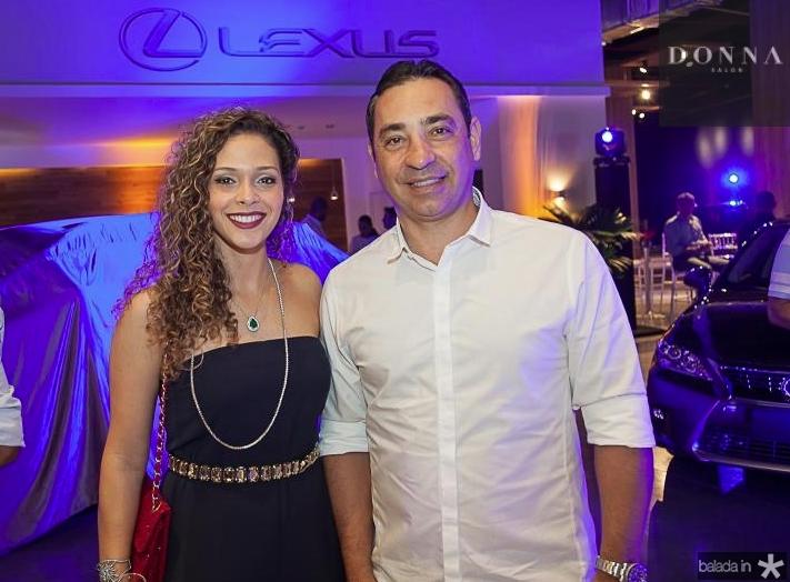 Gabriela Carvalho e Ronaldo Muñoz