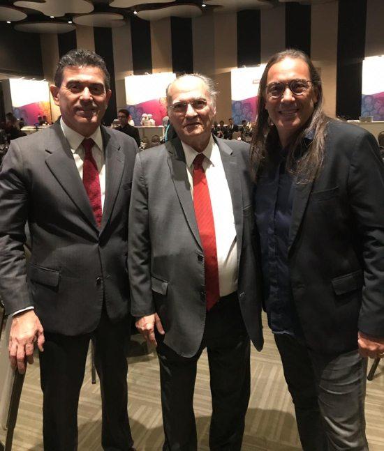 Alexandre Pereira, Roberto Freire e Rodolphe Trindade